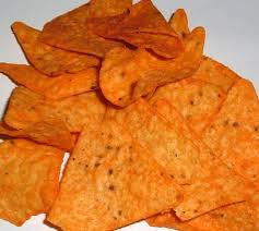200 kalori of Doritos