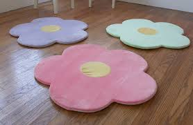 Rug For Baby Room Amazon Com Pink Flower Area Rug For Kids Girls Room Girls Area