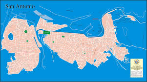 San Antonio Texas Map Large San Antonio Maps For Free Download High Resolution And