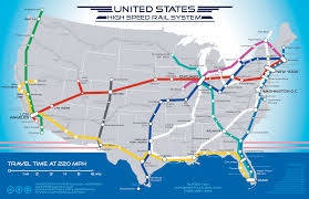 Sf Metro Map by San Francisco To Las Vegas In 5 Hours By Train A Map For A