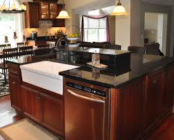 Restaining Kitchen Cabinets Granite Countertop Restain Kitchen Cabinets Before And After