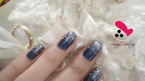 glitter royal blue nails how to remove glitters nail art love