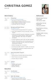 Production Resume Samples   VisualCV Resume Samples Database Production Resume Samples