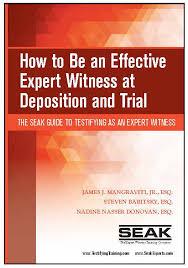 Expert Witness Testimony Witness Statement Letter Sample