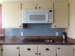 cream kitchen backsplash with glass tiles u2013 home design and decor