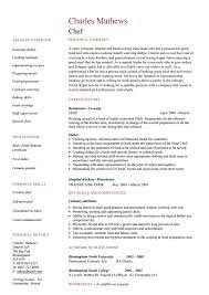 Pastry Chef Resume Examples by 15 Chef Resume Templates Free Psd Pdf Samples