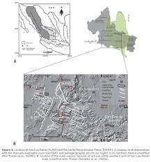San Luis Potosi Mexico Map by Trace Elements Geochemistry And Origin Of Volcanic Units From The