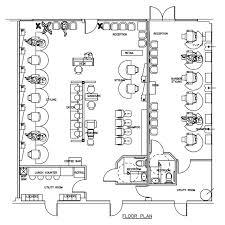 Retail Floor Plan Creator Beauty Salon Floor Plan Design Layout 2040 Square Foot Salon