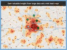 Excel Heat Map Visual Crossing Maps For Microsoft Excel