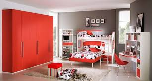 kids bedroom awesome boys bedroom decoration idea with red