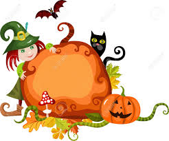 halloween background of wich halloween card royalty free cliparts vectors and stock