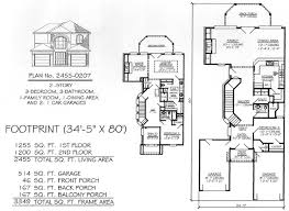 2800 Square Foot House Plans 3 Bedrooms 2 Stories 2301 2800 Square Feet