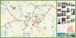 Como Italy Map by Milan Tourist Attractions Map