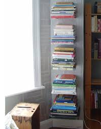 Container Store Bookshelves Diy Invisible Floating Bookshelves