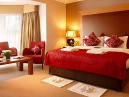 Modern Room Nuance Color Combination In Bed Room With Red Modern Red Nuance Interior