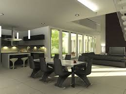 Black And White Dining Room Chairs Modern Dining Room For Modern Lifestyle And Living Amaza Design
