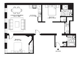 3 Bedroom Apartment Floor Plan Bedroom Expansive 3 Bedroom Apartments Plan Light Hardwood Wall
