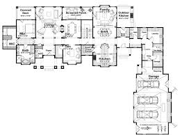 Executive Ranch Floor Plans Beautiful L Shaped House Plans Homedessign Com