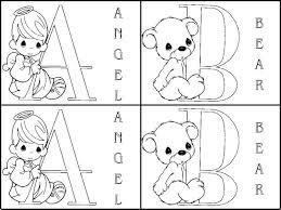 robbygurl u0027s creations precious moments alphabet matching game