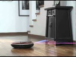 Robotic Wall Lg Roboking Quiet Robotic Vacuum Cleaner Youtube