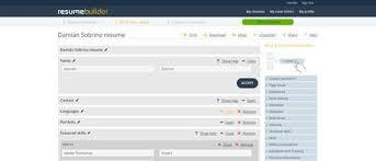 Free Resumes Builder Online by Resumes Builder Template Billybullock Us