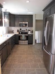 Painted Kitchen Floor Ideas Tiles And Lighting Enchanting Flooring Ideas Materials Kitchen
