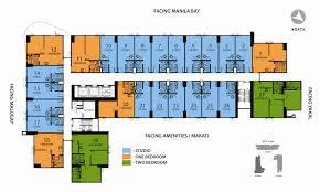 Condominium Floor Plans Avida Towers Asten Avida Condo Makati Atayala