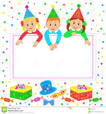 Card Invitation Birthday Party Card Invitation Stock Vector Image 53552216