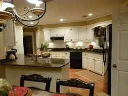 Complete Kitchen Cabinets Remodel Complete Tropic Brown Granite Dover White Cabinet Paint