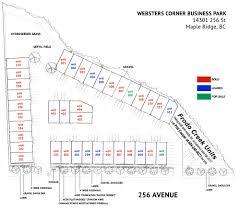 site plan websters corner business park