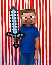 Halloween Minecraft Costume 15 Diy Halloween Costumes Kids Educational Twist