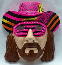 bert halloween costume wwf macho man randy savage vintage halloween costume mask