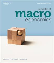 principles of macroeconomics n mankiw ronald kneebone kenneth