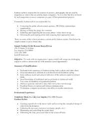 Cosmetologist Resume Objective Hairdressing Resume Objective For Hairstylist Assistant Hair