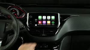 autofrance peugeot peugeot 208 central multimedia apple play car youtube