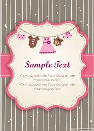 Baby Shower Invitation Cards Templates 22 Unique Baby Shower Invitations Cards Free U2022 Elsoar