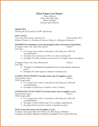 Blank Resume Examples Free Resume Templates Business Case Examples Graphic Design