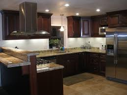 kitchen designs kitchen granite countertop overhang dark cabinets