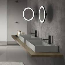 illuminated bathroom mirrors a stylish bathroom lighting