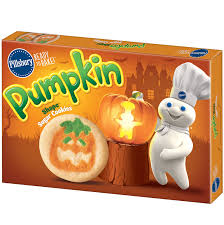 order pillsbury ready to bake pumpkin shape sugar cookies fast