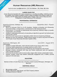 Resume Sample For Human Resource Position by Human Resources Resume Sample U0026 Writing Tips Resume Companion