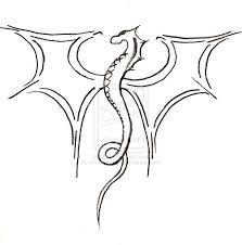 25 easy dragon drawings ideas simple dragon