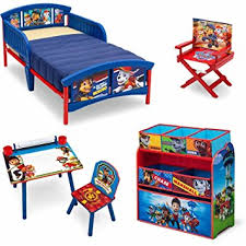 Kids Plastic Play Kitchen by Amazon Com Nick Jr Paw Patrol 5 Piece Furniture Kids Set