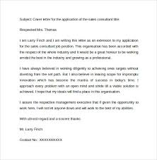 Sample Cover Letter Examples for Sale        Download Free     Sales Consultant Cover Letter