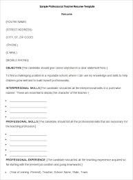 Elementary Teacher Resume Sample   Resume Samples   Pinterest