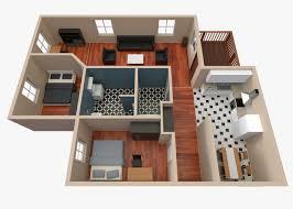 3d house floor plan 2 cgtrader