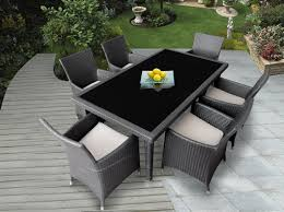 Black Wicker Patio Furniture Sets - best 15 outdoor dining furniture for your home ward log homes