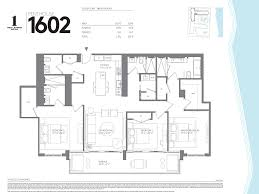 Penthouse Floor Plans Floorplans For Miami Penthouse 1 Hotel U0026 Homes South Beach Miami
