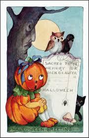 584 best hallowe u0027en images on pinterest happy halloween vintage