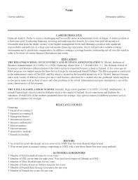 cover letter good objective statements for resumes good objective WordPress com